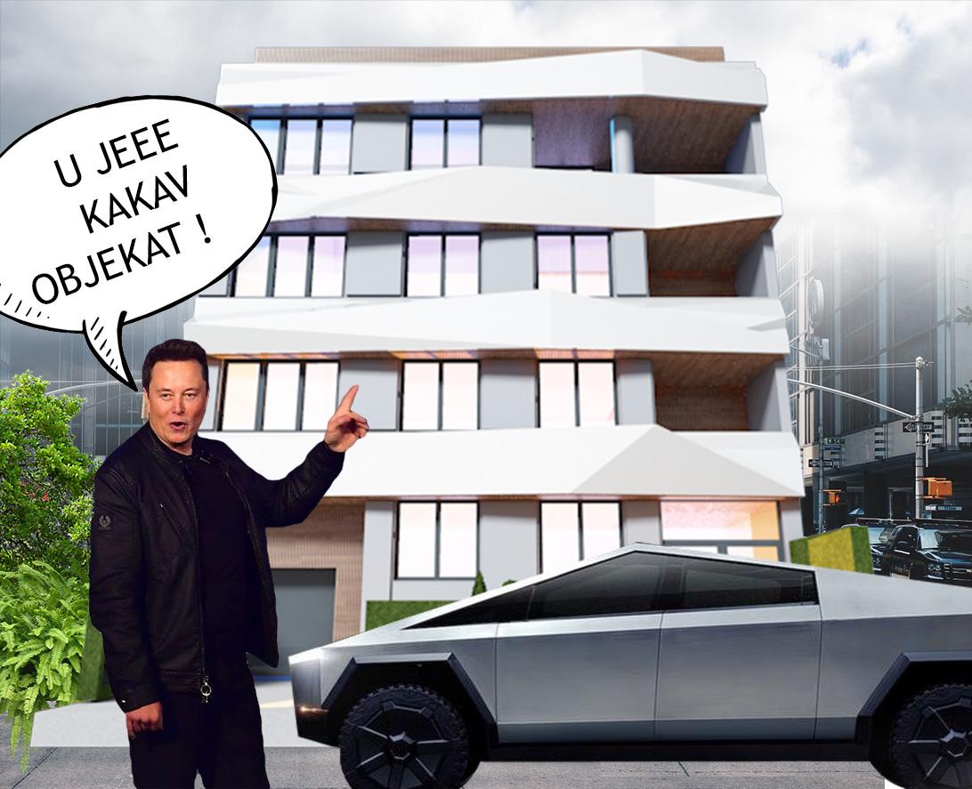 Elon Musk, Tesla Cyber Truck i Naša Cyber Yacht